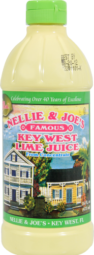 Nellie & Joe's Key West Lime Juice Perspective: front