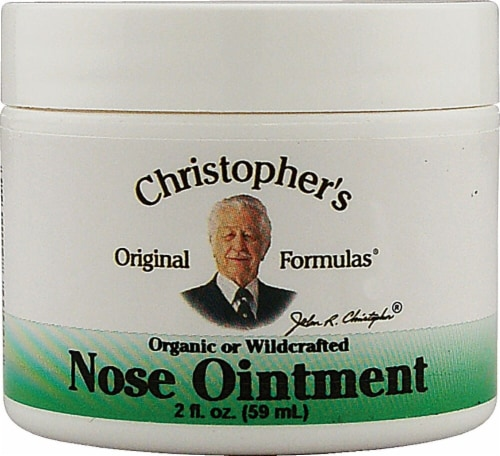 Christopher's Nose Ointment Perspective: front