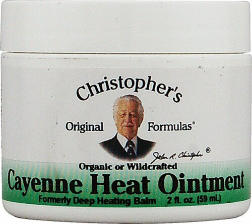 Christopher's Cayenne Heat Ointment Perspective: front