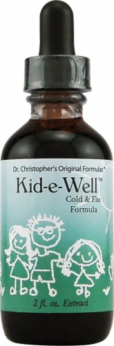 Christopher's Kid-e-Well Cold & Flu Formula Extract Perspective: front