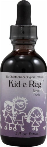 Christopher's Kid-e-Reg Bowel Tonic Extract Perspective: front