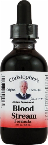 Christopher's  Blood Stream Formula Perspective: front