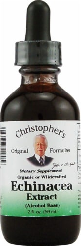 Christopher's Echinacea Extract Alcohol Base Perspective: front