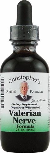 Christopher's Valerian Nerve Formula Perspective: front