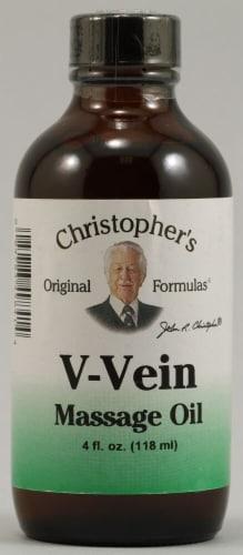 Christopher's V-Vein Massage Oil Perspective: front