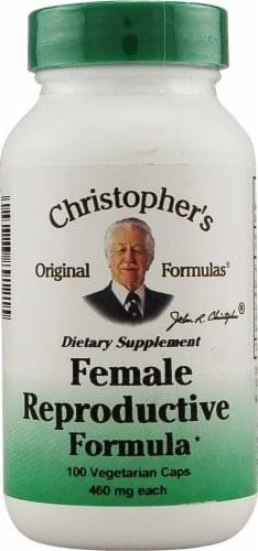 Christopher's Female Reproductive Formula Vegetarian Caps 460mg Perspective: front