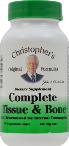 Christopher's Complete Tissue & Bone Vegetarian Caps Perspective: front