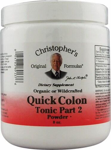 Christopher's Quick Colon Formula Part 2 Powder Perspective: front