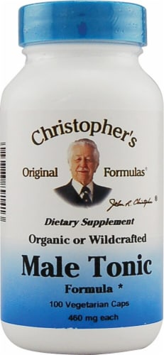 Christopher's Male Tonic Formula Caps Perspective: front