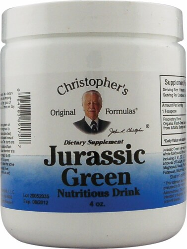 Christopher's Jurassic Green Powder Perspective: front