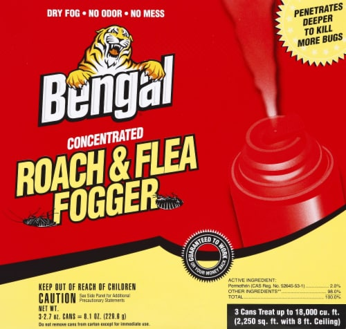 Bengal Concentrated Roach & Flea Fogger Perspective: front