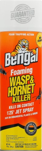 Bengal Foaming Wasp and Hornet Killer Spray Perspective: front