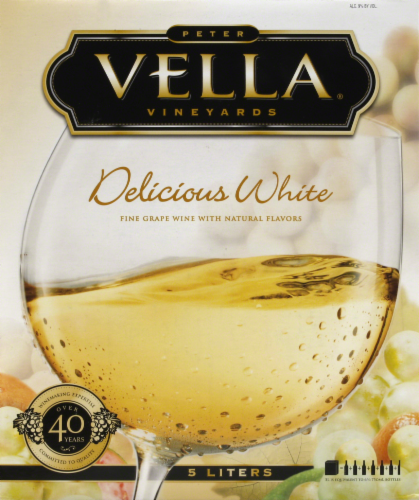 Peter Vella Vineyards White Grenache White Wine Perspective: front