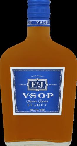 E&J VSOP Brandy Perspective: front