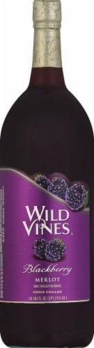 Wild Vines Blackberry Merlot Red Wine 1.5L Perspective: front