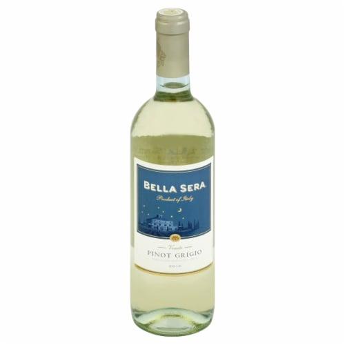 Bella Sera Pinot Grigio White Wine Perspective: front