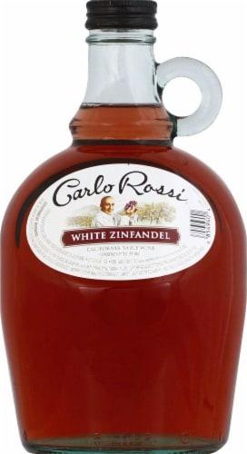 Carlo Rossi White Zinfandel White Wine Perspective: front