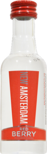 New Amsterdam Red Berry Vodka Perspective: front