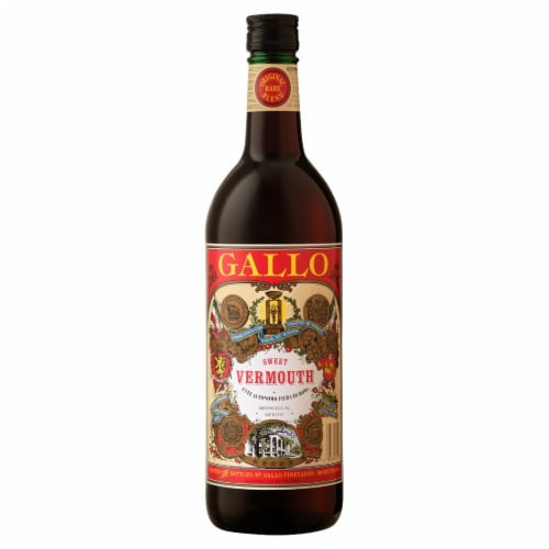 Gallo Family Vineyards Sweet Red Vermouth Wine Perspective: front