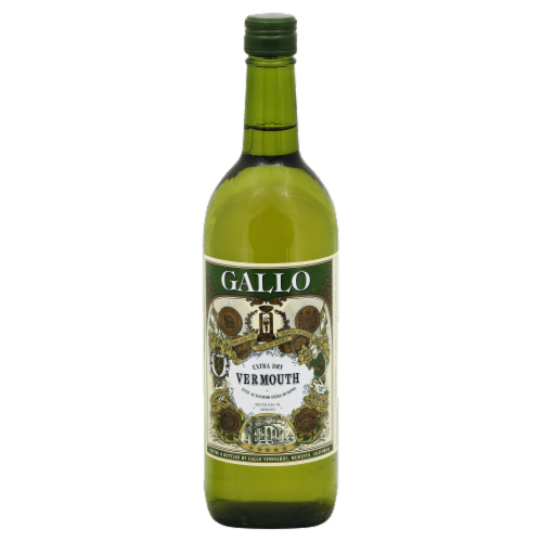 Gallo Family Vineyards Extra Dry Vermouth Wine Perspective: front