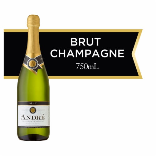 Andre Brut Champagne Sparkling Wine 750ml Perspective: front
