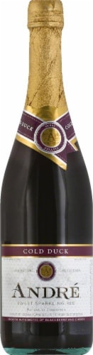 Andre Cold Duck Champagne Sparkling Wine 750ml Perspective: front