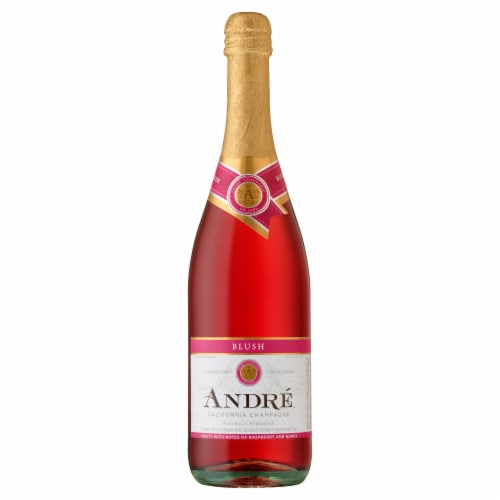 Andre Blush Champagne Sparkling Wine 750ml Perspective: front