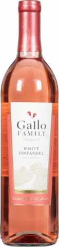 Gallo Family Vineyards White Zinfandel Wine 750ml Perspective: front