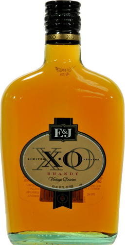E&J XO Brandy Perspective: front