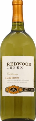 Redwood Creek Chardonnay White Wine Perspective: front