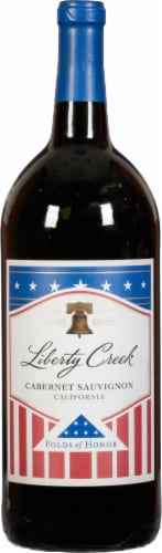 Liberty Creek Cabernet Sauvignon Red Wine Perspective: front