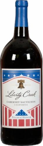 Liberty Creek Vineyards Cabernet Sauvignon Red Wine 1.5L Perspective: front