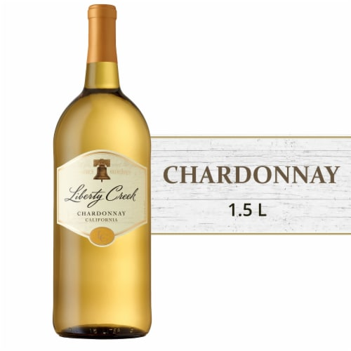 Liberty Creek Chardonnay White Wine Perspective: front