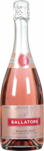 Ballatore Red Asti Spumante Sparkling Wine Perspective: front