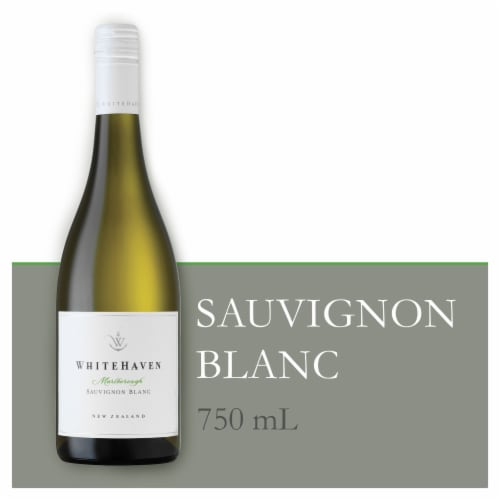 Whitehaven New Zealand Sauvignon Blanc White Wine 750 ml Perspective: front