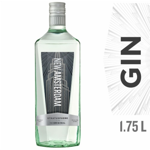 New Amsterdam Gin Perspective: front