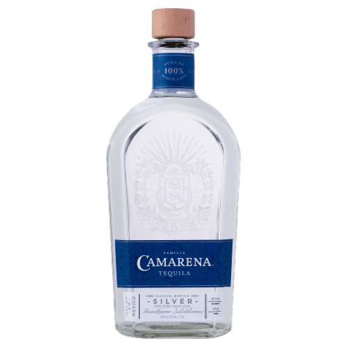 Camarena Silver Tequila Perspective: front