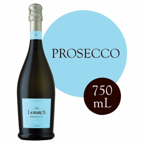 LaMarca Prosecco Sparkling Wine Perspective: front