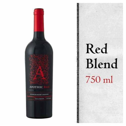 Apothic Red Blend Red Wine Perspective: front