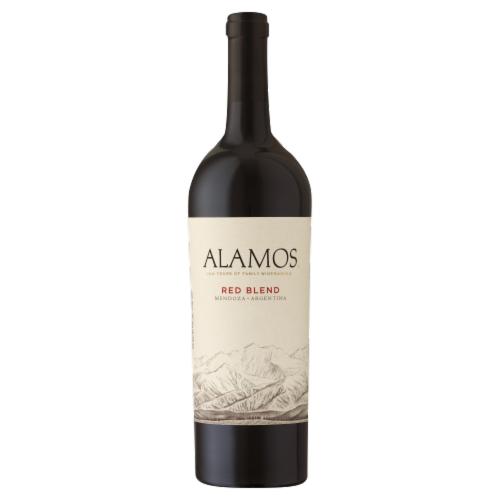 Alamos Wine Red Blend Perspective: front