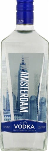 New Amsterdam Vodka Perspective: front