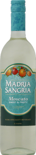 Madria Moscato Sangria White Wine Perspective: front
