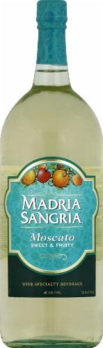 Madria Moscato Sangria White Wine Perspective: front