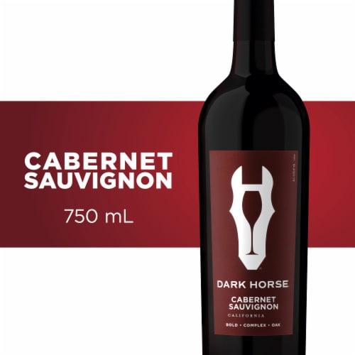 Dark Horse Cabernet Sauvignon Red Wine Perspective: front