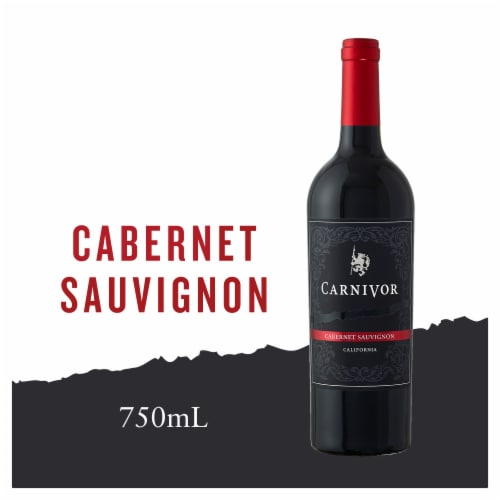 Carnivor Cabernet Sauvignon Red Wine Perspective: front