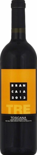 Brancaia Tre Toscana Red Wine Blend Perspective: front