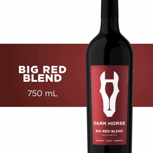 Dark Horse Big Red Blend Red Wine Perspective: front