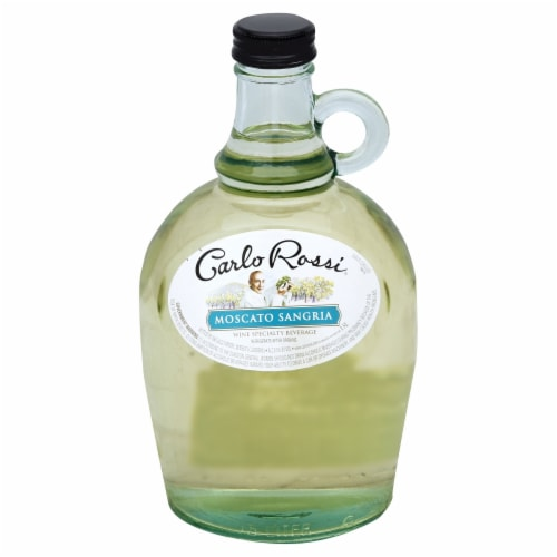 Carlo Rossi Moscato Sangria White Wine Perspective: front