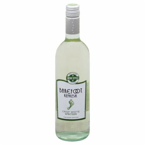 Barefoot Spritzer Moscato White Wine 750ml Perspective: front