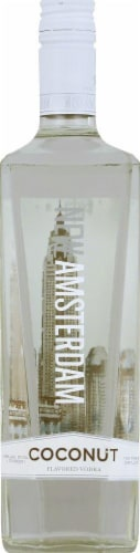 New Amsterdam Coconut Flavored Vodka Perspective: front